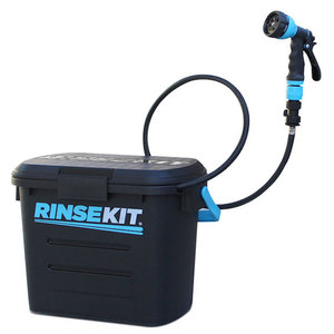 RinseKit Wash Down Portable Pressurized Shower