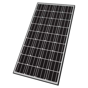 165W Rigid Monocrystalline Solar Panel