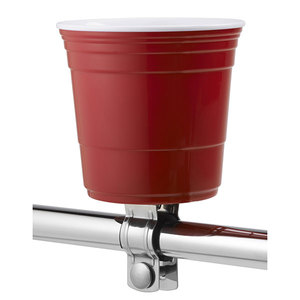 Red Cup Bicycle Drink Holder