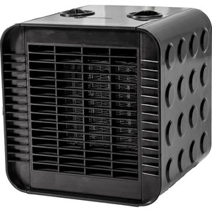 DeltaMAX Ceramic Portable Heater, Black, 110V