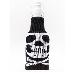 Pirate Skull Bottle Insulator