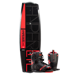 140 State Wakeboard Combo Package w/ Remix Boot, 10-14