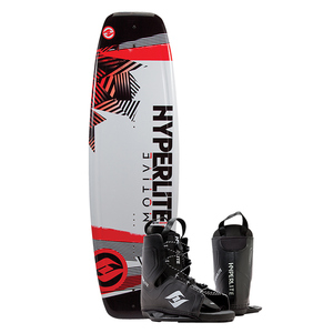 134 Motive Wakeboard Combo Package w/ Frequency Boot, One Size Fits All