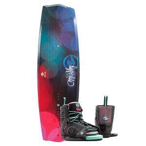 130 Eden Wakeboard Combo Package w/ Jinx Boot, 4-8.5