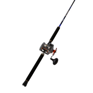 Blue Diamond Casting Rod with a Coldwater Reel