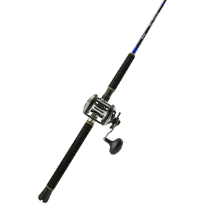 Blue Diamond Casting Rod with a Classic Pro Reel