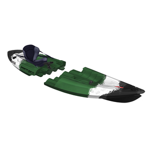 Tequila! GTX Angler Solo Modular Sit-On-Top Kayak, Camouflage