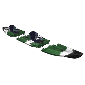 Tequila! GTX Angler Tandem Modular Sit-On-Top Kayak, Camouflage