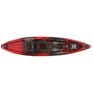 Pescador Pro 12.0 Sit-On-Top Angler Kayak, Red Tiger Camo