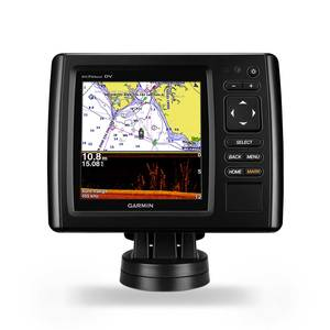 echoMAP CHIRP 54dv 5-inch Fishfinder/Chartplotter with GT 23TM DownVü/CHIRP transducer and BlueChart® g2 charts