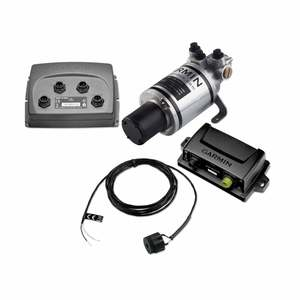 GHP Compact Reactor™ Hydraulic Autopilot With Pump, Course Computer and ECU.