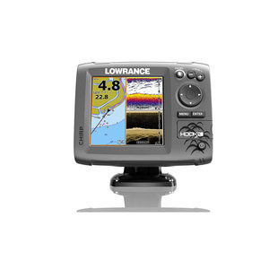 Hook-5 Fishfinder/Chartplotter with Mid/High CHIRP and DownScan™ Imaging