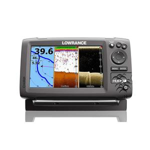 Hook-7 Fishfinder/Chartplotter with Mid/High CHIRP and DownScan™ Imaging
