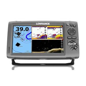 Hook-9 Fishfinder/Chartplotter with Mid/High CHIRP, DownScan™ Imaging, Navionics+ Cartography($100 Value)