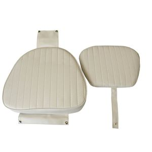 White Commodore Seat Cushions