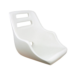 Admiral Rotational Molded Seat with Mounting Plate