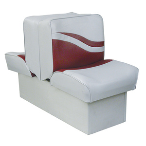 "10"" Base Lounge Seat, Gray/Red"