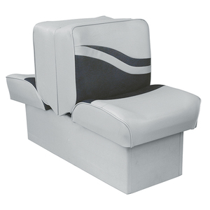 "10"" Base Lounge Seat, Gray/Charcoal"