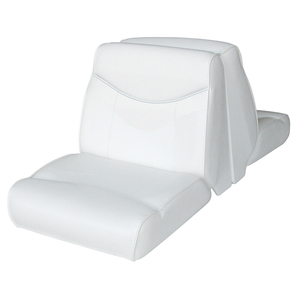 Bayliner Lounge Seat Top, White