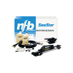 Seastar Solutions SeaStar 1.7 Front-Mount Outboard Hydraulic Steering Kit with 22' Hoses Sale $1299.00 SKU: 550897 ID# HK6322A UPC# 731957827685 :