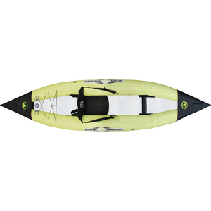 "10'5"" K1 Inflatable Solo Kayak, Green"