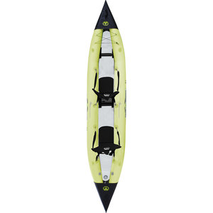 "13'9"" K1 Inflatable Tandem Kayak, Green"