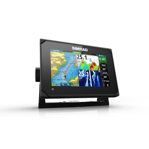 GO7 XSE Fishfinder/Chartplotter with Mid/High (83/200kHz) CHIRP and DownScan™ (455/800kHz) Imaging.