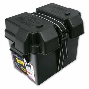 Black Group 24 Battery Box