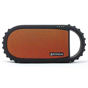 EcoCarbon Waterproof Bluetooth Speaker - Orange
