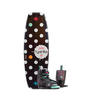 119 Divine Wakeboard Combo Package w/ Jinx Boot, 4-8.5