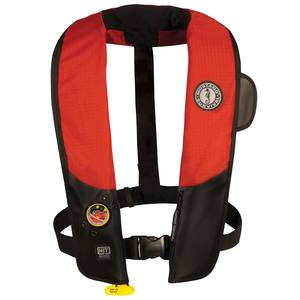 Hydrostatic HIT Inflatable Life Jacket, Red/Black, Adult