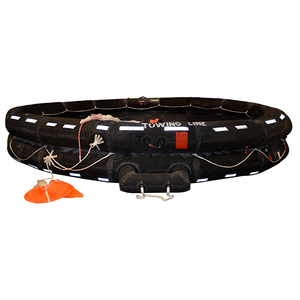 Life Raft IBA, 25-Person, Low-Profile Container