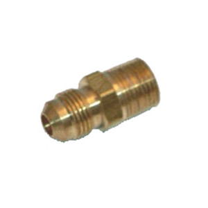 "Adapter, 3/8"" Male Flare to 3/8"" Male NPT"
