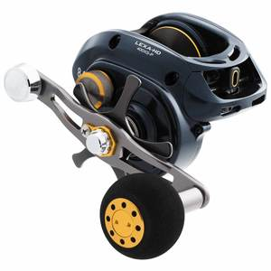 Lexa 400 HD Hyper Speed Baitcasting Reel