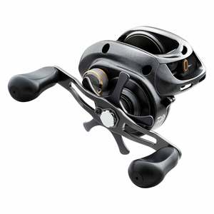 Lexa 400 High Capacity Standard Speed Baitcasting Reel with Paddle Handle