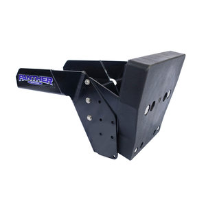 Swim Platform Outboard Motor Bracket, Powder-Coat Aluminum, Max. 20hp, Max. 195lb.
