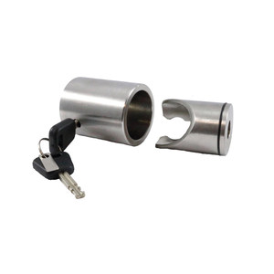 Bolt-On Outboard Motor Lock, Heavy-Duty Stainless Steel