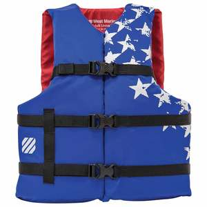"Americana Runabout Life Jacket, Adult, 30""-52"" Chest"