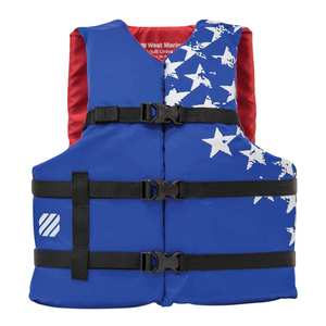 "Americana Runabout Life Jacket, Adult, 52""-62"" Chest"