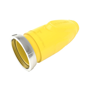 50A Plug Cover, Yellow