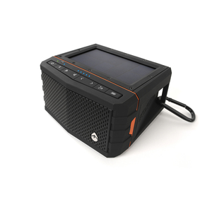 Sol Jam Solar Bluetooth Waterproof Stereo Speaker, Black