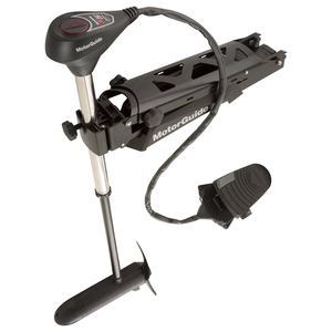 "X5 Freshwater Trolling Motor, 105lb Thrust, Bow Mount/Foot Control, 45"" Shaft, 36V"
