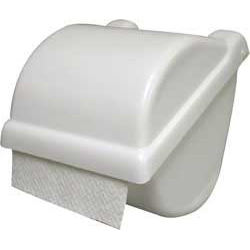 Surface-Mounted Covered Toilet Tissue Holder