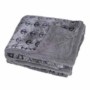 Anchor Print Blanket
