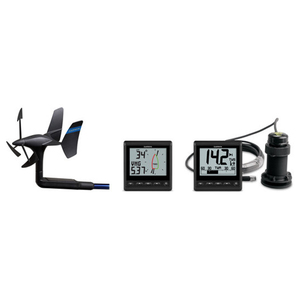 GNX™ Wireless Sail Pack with new wireless masthead sensor, two dispalys and depth transducer.