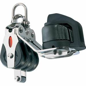 Series 20 Triple Block with 2-Axis Shackle Head, Becket and Cam