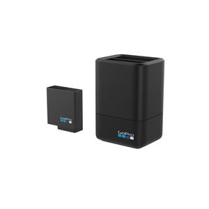 Dual Battery Charger and Battery for HERO5 Black