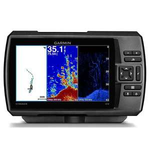 STRIKER™ 7cv 7-inch CHIRP Fishfinder with GPS, ClearVü Scanning Sonar and Transducer