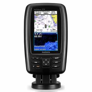 echoMAP™ CHIRP 44cv Chartplotter/Fish Finder with Coastal Charts and ClearVü Transducer