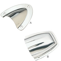 Stainless-Steel Clamshell Vents
